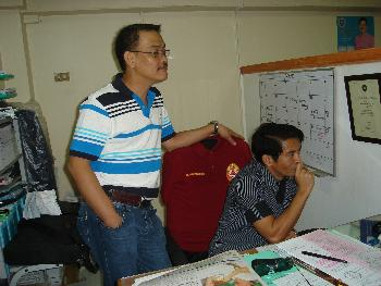 Atty. Osmundo P. Villanueva Jr., Acting CLO, with Atty. Enrique Junior A. Bonocan